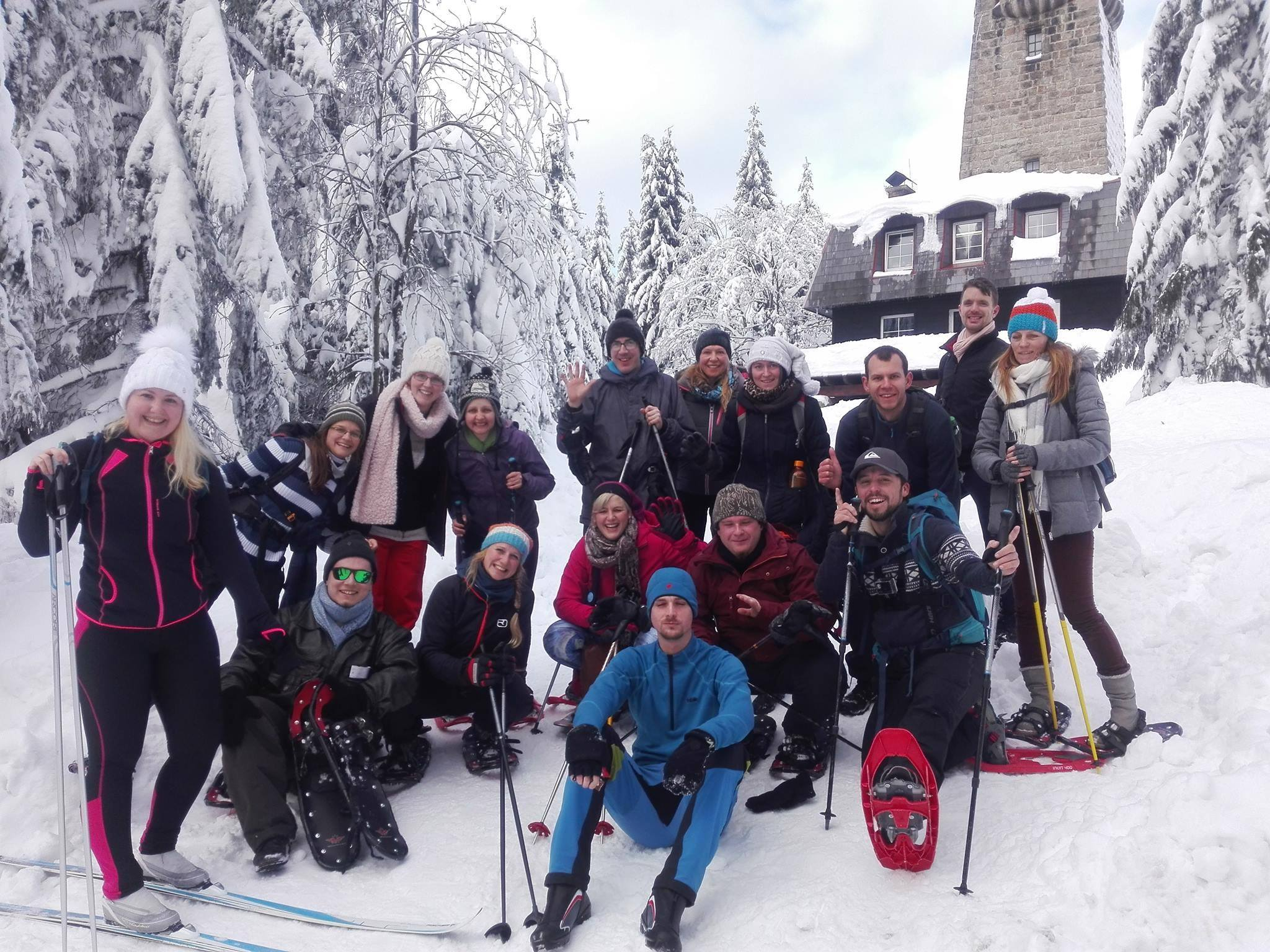 Rise and Shine na teambuldingu na horách v Jablonci nad Nisou